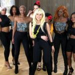Rock Video with energetic dancers
