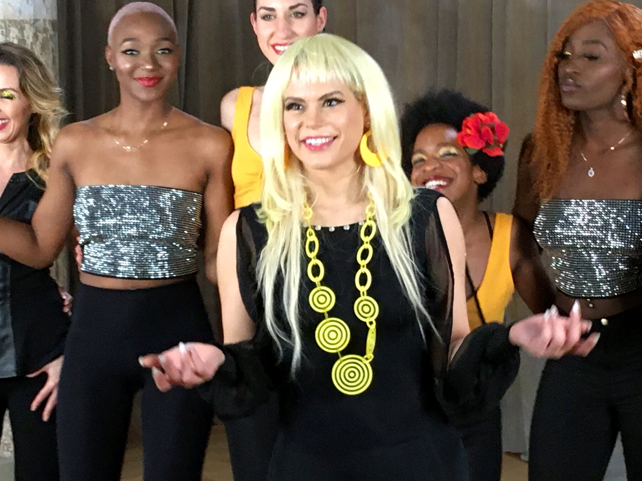 """Marie creates her new music video, entitled """"Call Me""""."""