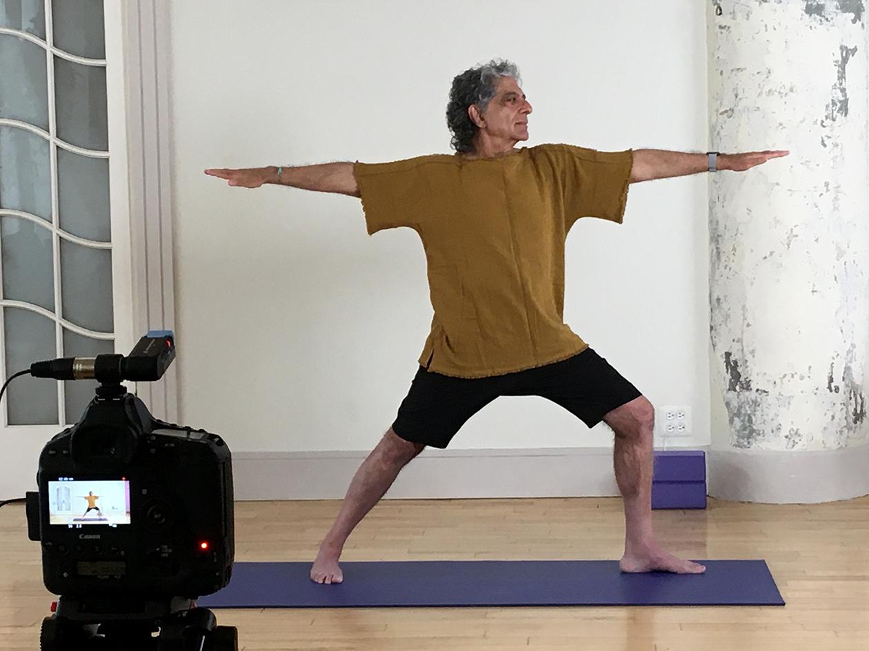 Yoga Demonstration with Deepak Chopra